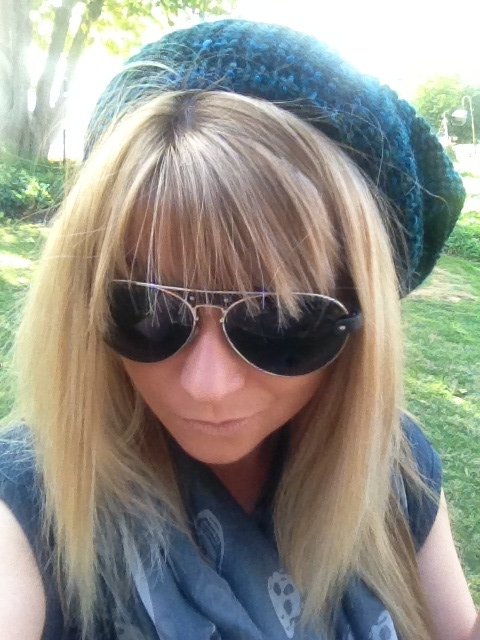 Love my Marc by Marc Jacobs knitted beanie