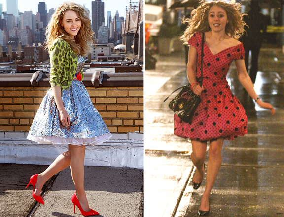 Girls Just Wanna Have Fun With Fashion; Junior Carrie already a trend setter