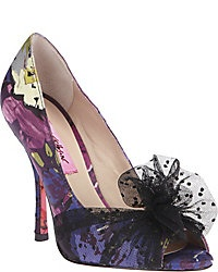 Betsey Johnson tulle pumps $109.95 available at Betseyjohnson.com