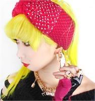 Pink knit rhinestone headband just $16 at Patrciafields.com