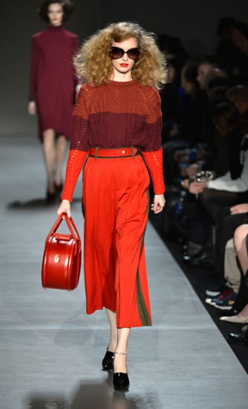 Loved Marc Jacobs' use of the best shades of red!