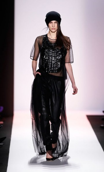 So pretty! So fun! So couture! My favorite runway piece from New York Fashion Week Fall 2013. Stunning piece by BCBG
