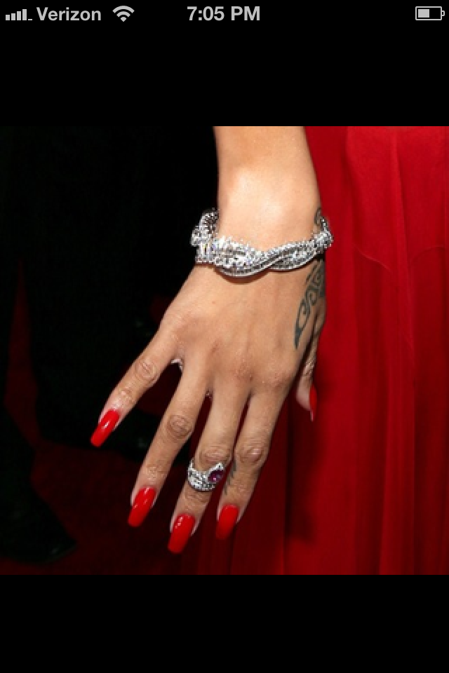 One of the hottest trends of the season is wearing a small ring half way down one of your favorite phalanges.
