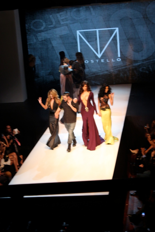 Michael Costello taking a final bow.