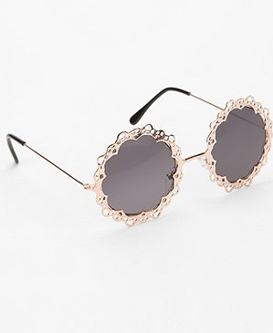 Lace framed sunglasses available at Urbanoutfitters.com for $18