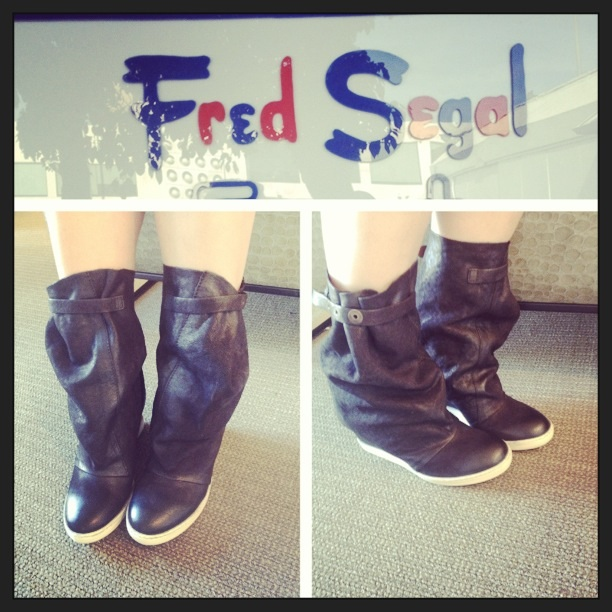 Trend Alert Spotted at Fred Segal!