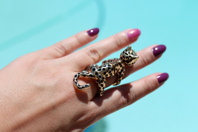 who would have thought an $8 ring from Charming Charlie's would be my go to accessory of the summer!