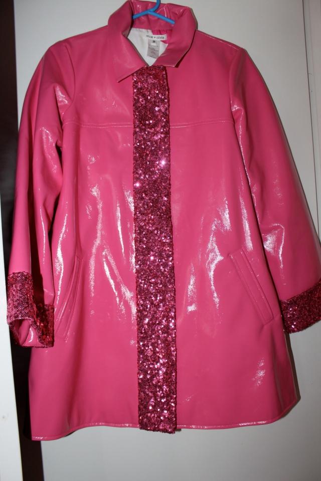 My Barbie Jacket aka a Raincoat by Alice and Olivia.
