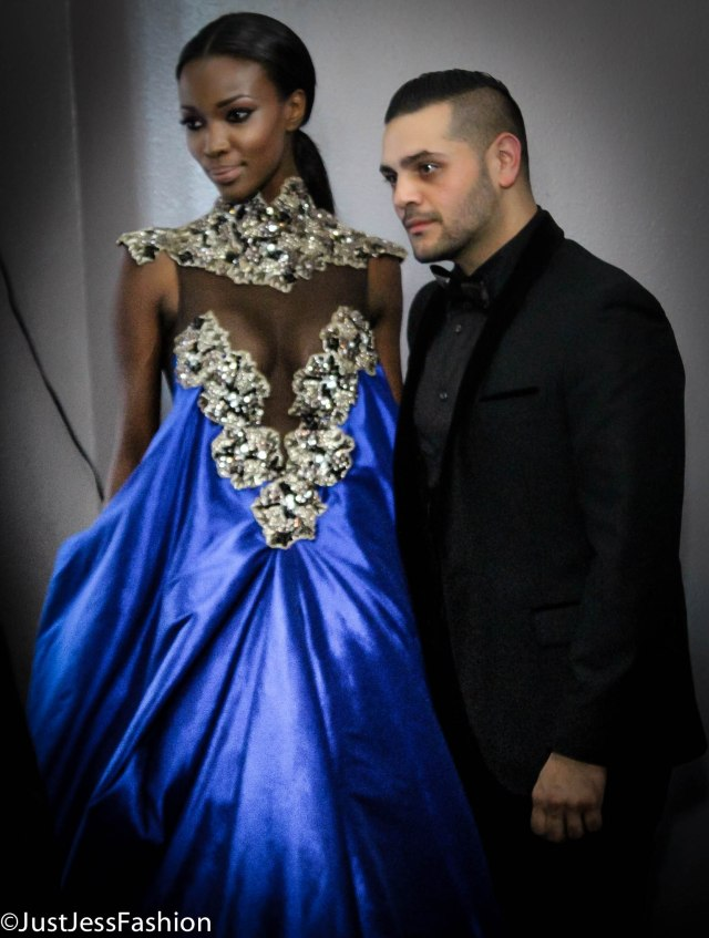 "I'm always amazed by legend in the making Michael Costello. His silhouettes are not only ingenious, and breathtaking but I truly feel as though he turns the woman wearing the design into a piece of art. I've been watching his career flourish since I first saw him at a Project Ethos event about 2 years ago. No doubt he will go down in history as one of the greats just like the ones whose lives and contributions were celebrated during the event's ""In Memorium"" portion."