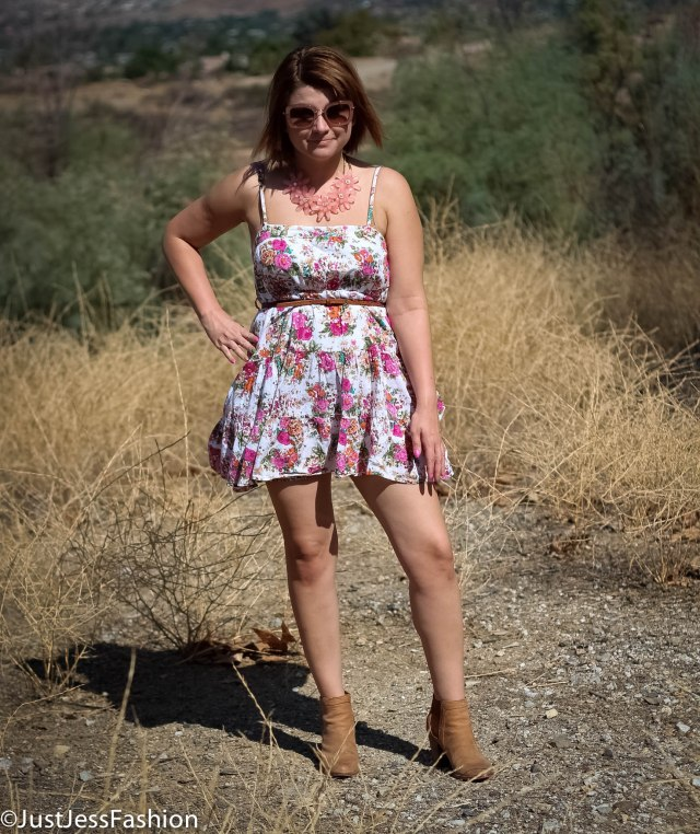 Dress: Forever 21 Boots: Joie Sunglasses: Miu Miu