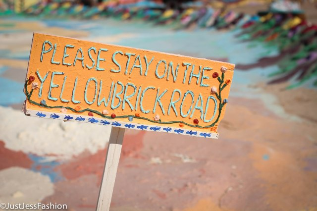 And follow the yellow brick road I did.