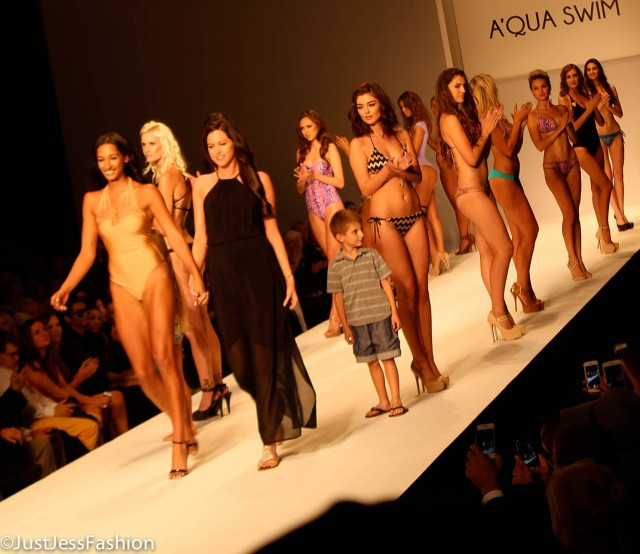 A' Qua Swim Debuted Their 2015 Collection At Style Fashion Week LA Friday night.