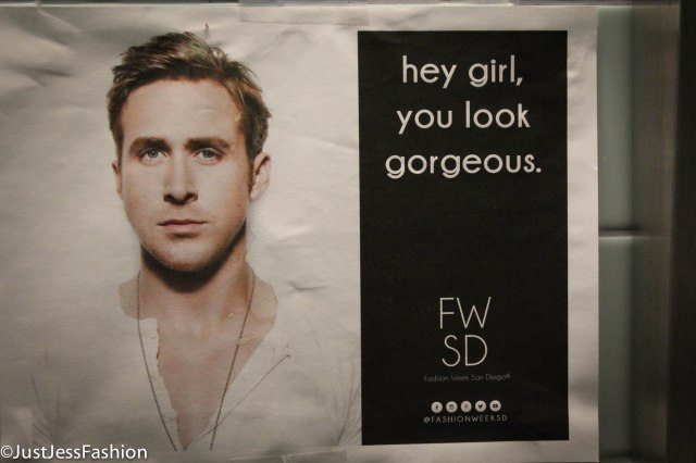 Oh heyyyyy Ryan! Any runway that appreciates perfection that is Ryan Gossling is ok in my book.
