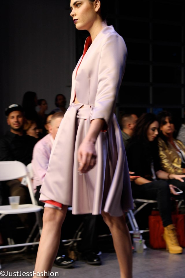 Danh Ta brought chic sophistication to the runway!