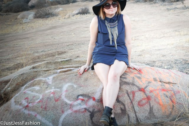 Top: Equipment Boots: GC Shoes Necklace and Hat: Saks