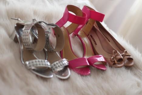 Heels, a short girls best friend year round.