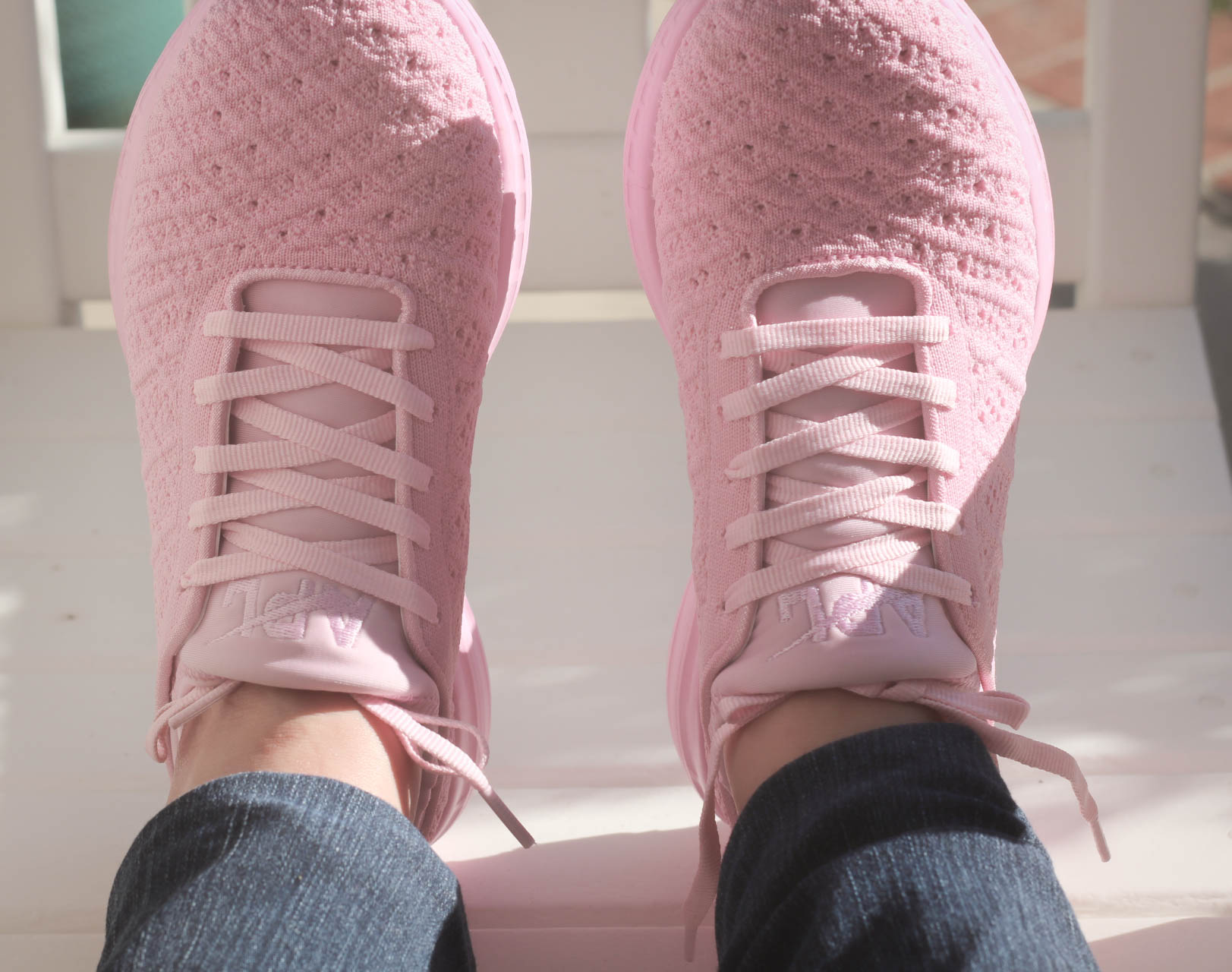 Pink APL Shoes   Just Jess Fashion!